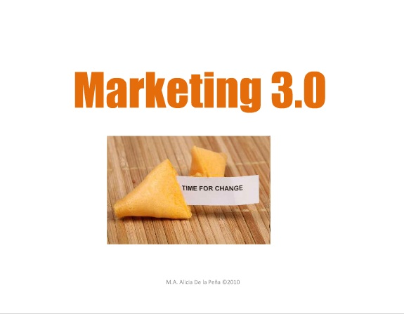 Marketing 3.0 y Consumo Responsable